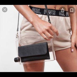 Aqua purse handbag
